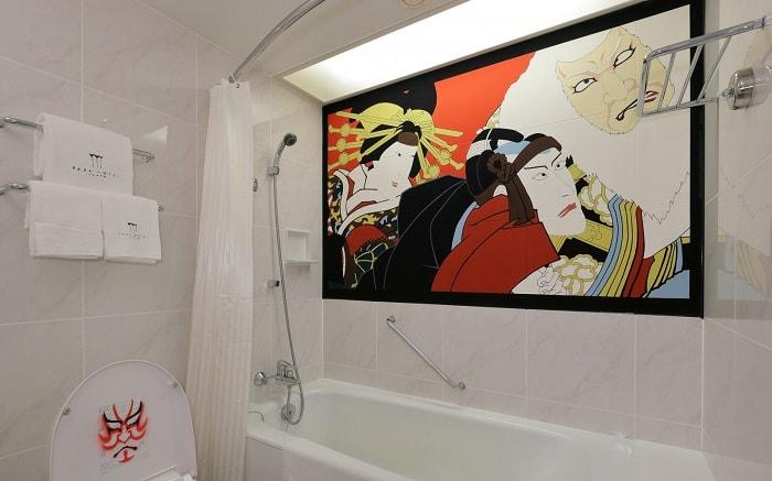 No. 22 – Park Hotel Tokyo Artist Room 'Kabuki' designed by OZ – Yamaguchi Keisuke