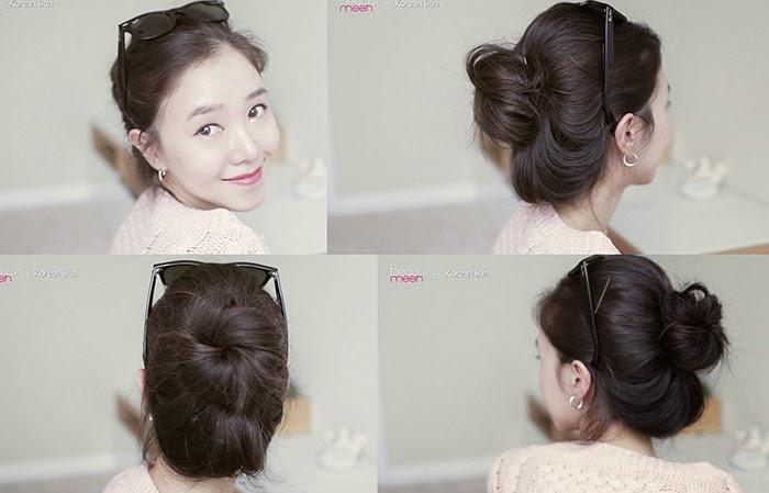 Korean Natural Bun Tutorial Beautifymeeh