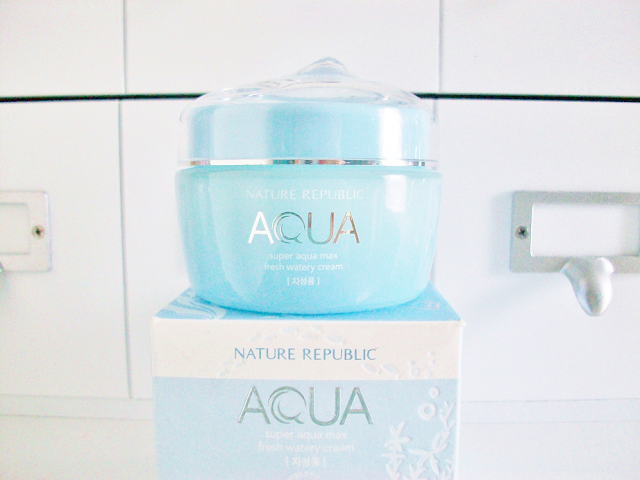 Nature Republic Super Aqua Max Moisture Watery Cream Review