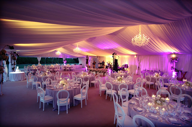 Captiva Island, South Seas Resort tent wedding