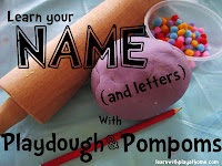 sensory learning, name activities
