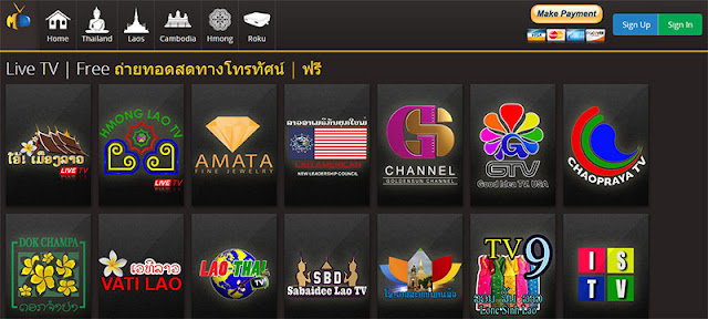 Malimar TV Networks free content online - Lao channels
