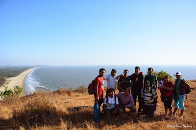 Group photo on the top of Kagal Fort