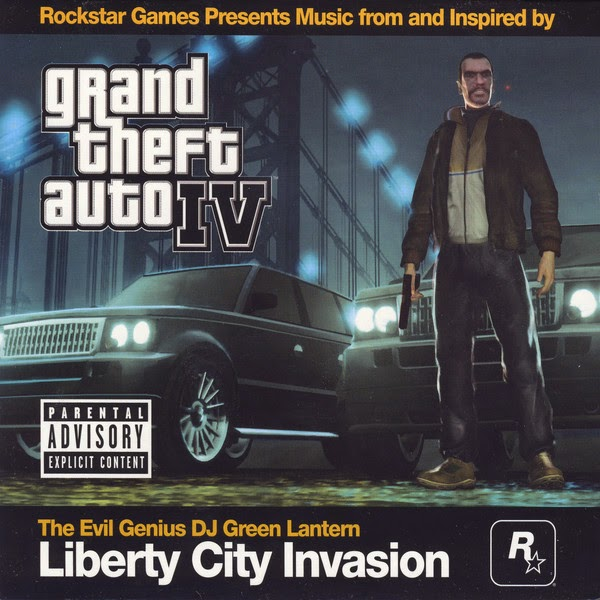 The Evil Genius DJ Green Lantern - Grand Theft Auto IV: Liberty City Invasion Cover