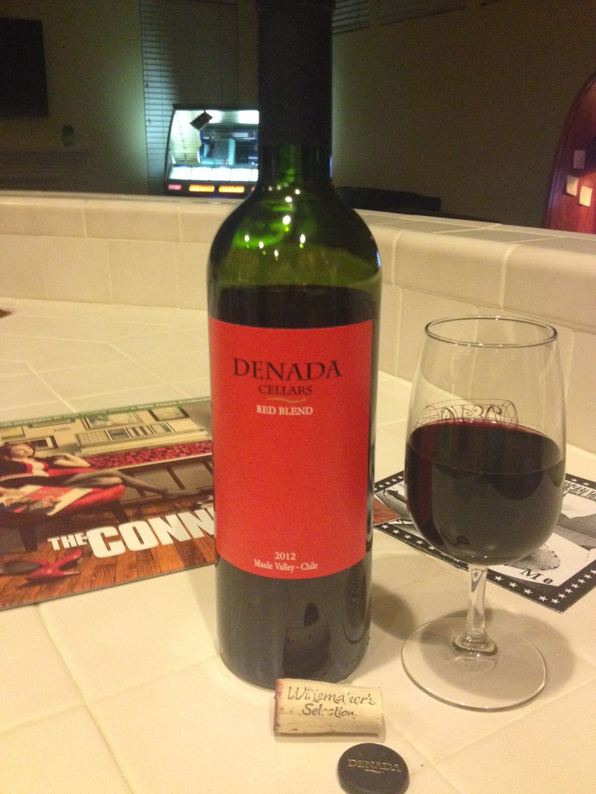 Red Red Wine On A Sunday 2012 Denada Cellars Red Blend