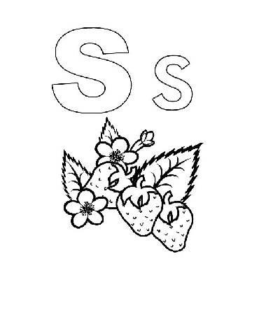 Preschool Coloring Pages : Alphabet Alphabook S >> Disney