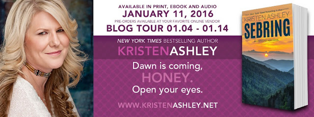BLOG TOUR - SEBRING by KRISTEN ASHLEY + A Rock Chick Fairy ARC Review + Excerpt + Giveaway