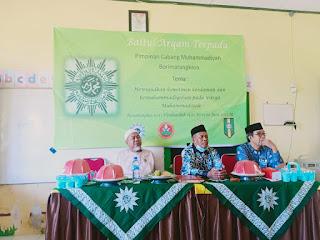 Pengurus Cabang Muhammadiyah  Borimatangkasa Gowa Gelar  Baitul Arqam Terpadu