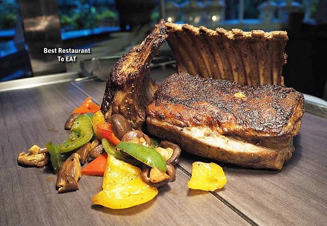 Kontiki Buffet Menu - Roast Lamb Rack