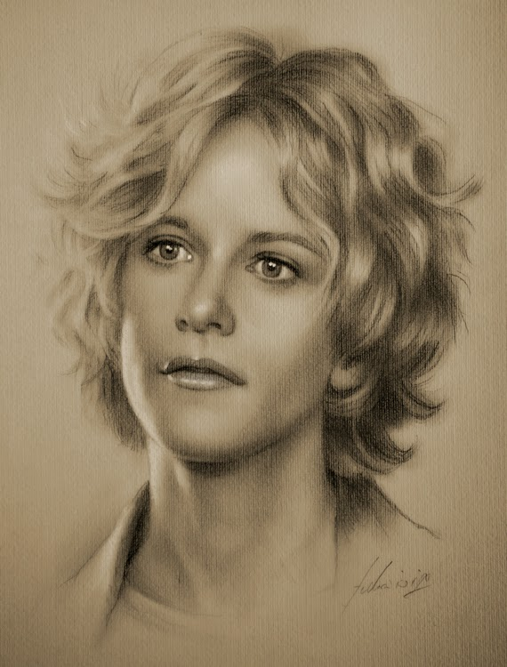 22-Meg-Ryan-krzysztof20d-2b-and-8b-Pencils-Clear-Pastel-Celebrity-Drawings-www-designstack-co