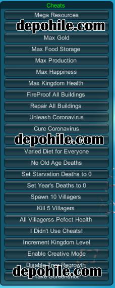 Kindoms and Castles Warfare Hile Kaynak, Hızlı İnşa Trainer 2020