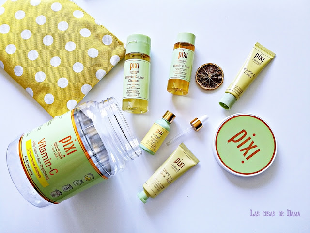 vitamina c glow beauty skincare belleza cosmética dermocósmetica cuidado facial Pixi antimanchas iluminado