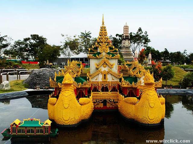 Karaweik Hall at Miniland, Legoland Park Malaysia