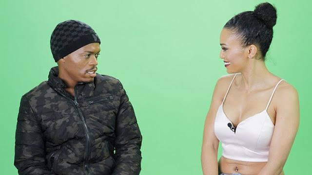 Pearl Thusi and Somizi Mhlongo