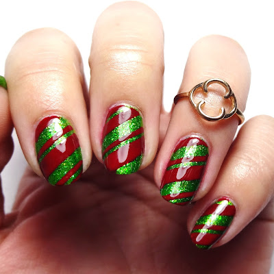Red And Green Nails