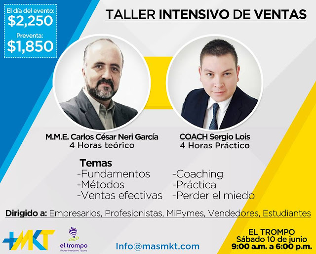 4To Taller de Vetas + Coaching