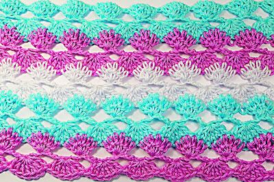 6 - Crochet IMAGEN Puntada a crochet y ganchillo para primavera muy facil y rapido. MAJOVEL CROCHET