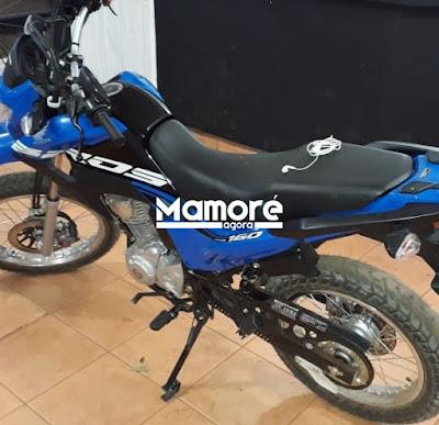 PM recupera motocicleta furtada e apreende menor de idade