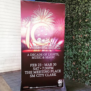 The 10th Philippine International Pyromusical Competition at SM City Clark