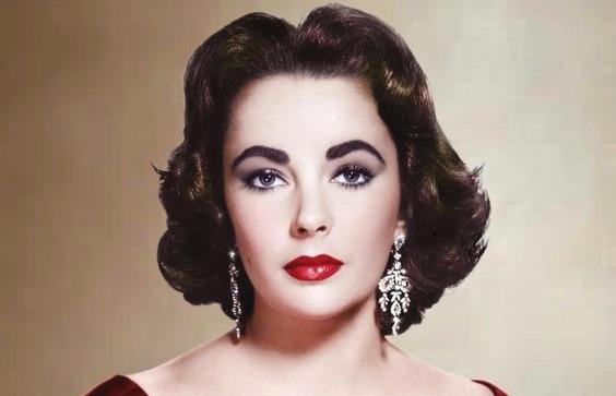 maquiagem da década de 50