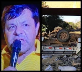 Presidente de Câmara Municipal morre em grave acidente no Piauí