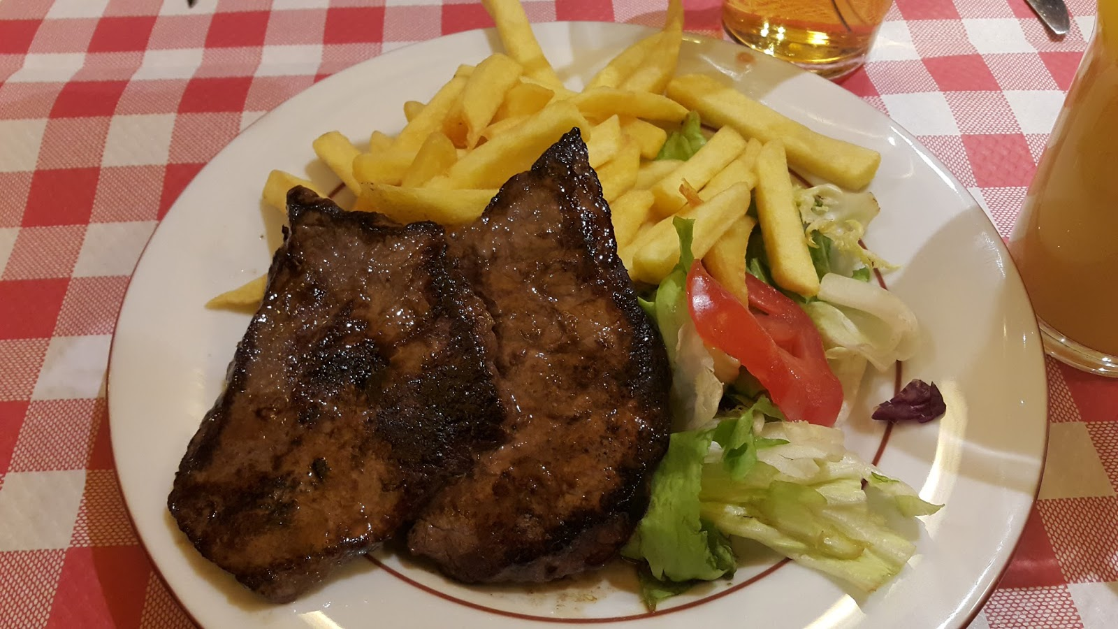 stake and chips