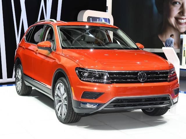 VW Tiguan 2018 7 lugares