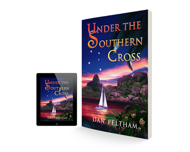 Under The Southern Cross Book Cover Design