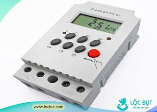 Timer 12v điều khiển tự động amply nhà yến dùng cho điện năng lượng mặt trời.