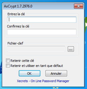 axcrypt crypter et decrypter
