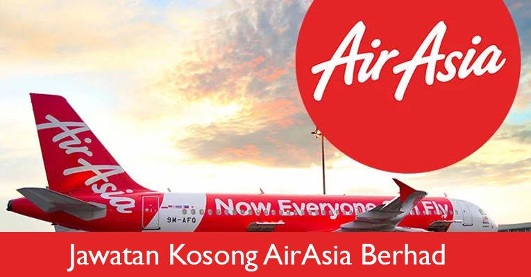 Jawatan Kosong di AirAsia Berhad - Pengambilan Terkini