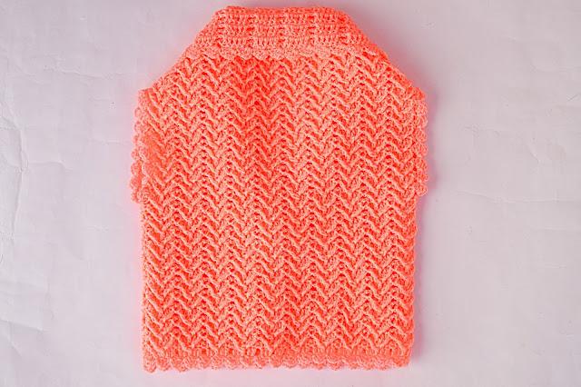 4 - Crochet Chaleco lindo a crochet y ganchillo por Majovel Crochet