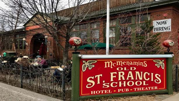 Once a Catholic schoolhouse in 1936, the old St. Francis School has now been converted into a hotel. The school halls have now been decorated with hotels furniture, while classrooms have been changed into guestrooms.