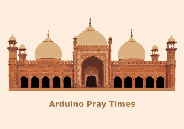 arduino pray time program