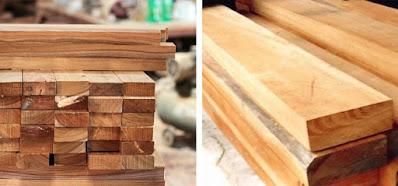 Kelebihan kayu solid