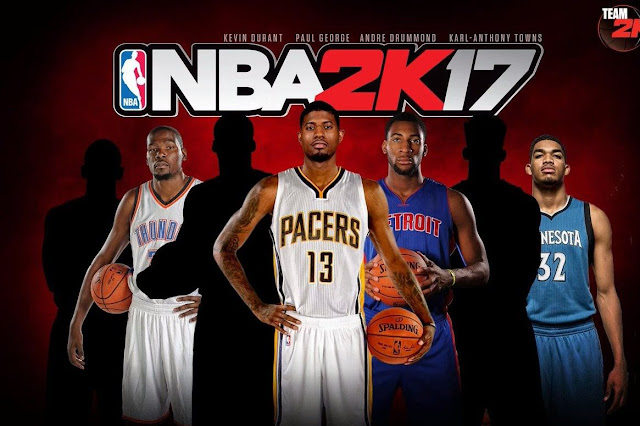 Download  NBA 2017 basketball game Apk+Data for Android