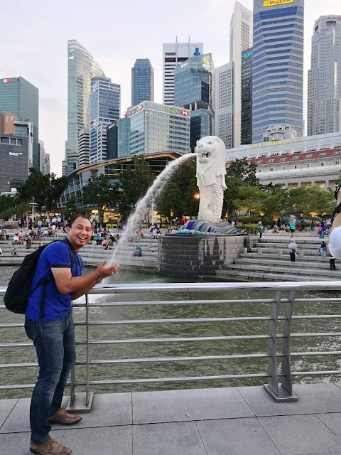 Mercu tanda utama Singapura, The Merlion