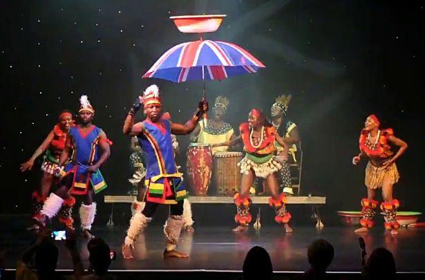 Adanta Dance Group Performance in Skegness Video