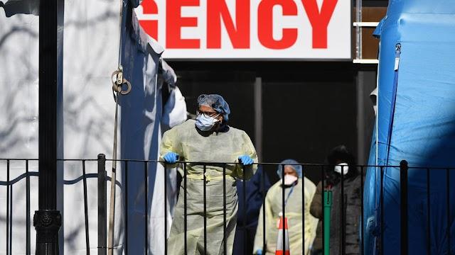 Com 100 mil infectados, EUA são país com mais casos de Covid-19 no mundo