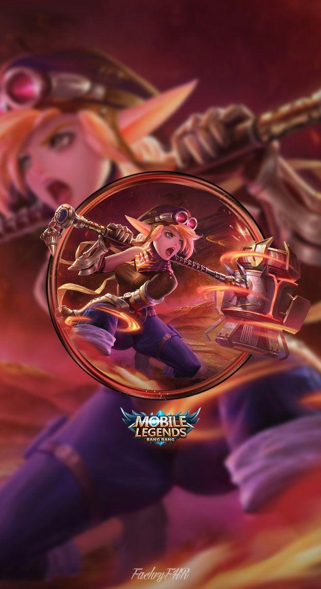 Wallpaper Lolita Steel Elf Skin Mobile Legends HD for Android and iOS
