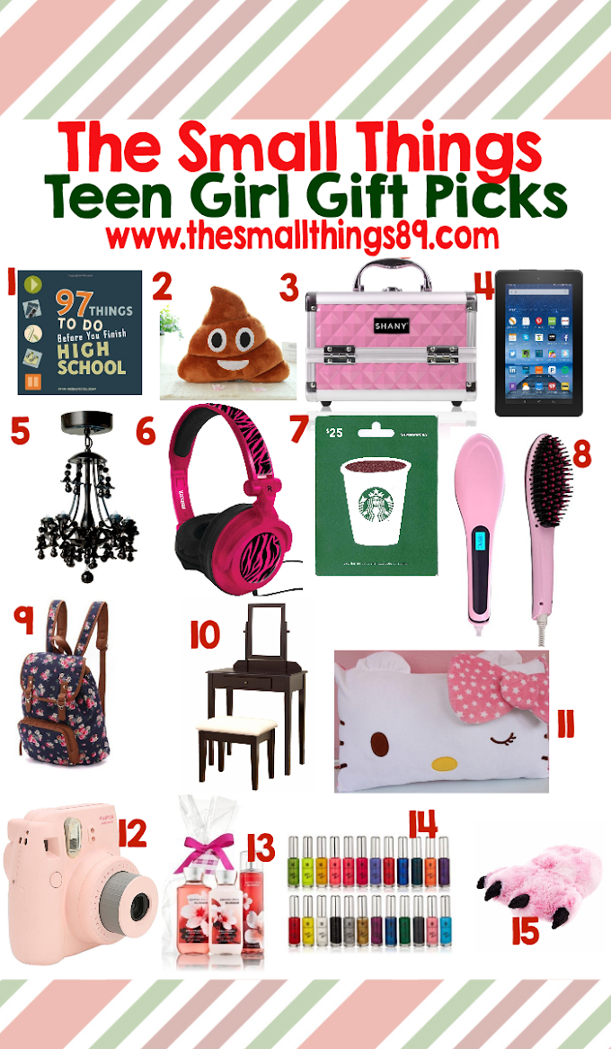 Looking for teen girl gift ideas? Look no further! Check out my top 15 picks!