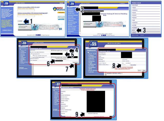Cara Bayar BPJS Ketenagakerjaan Lewat Internet Banking BCA