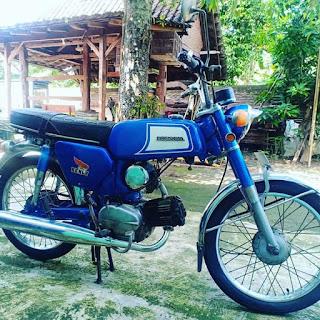 Jual Motor Jadoel Honda Benly Si Udug Legenda