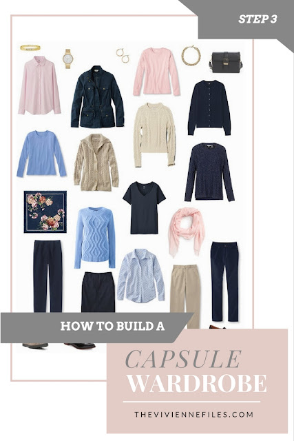 How to build a capsule wardrobe from scratch - Step 3