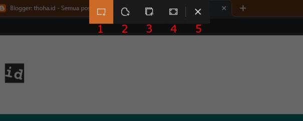 Cara Baru Screenshot di Windows 10 |