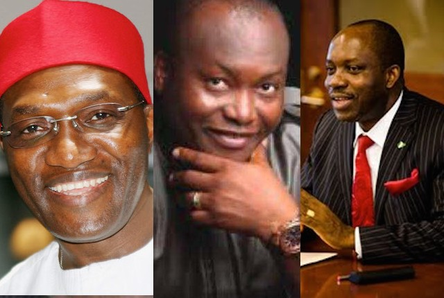 Andy Ubah, Ifeanyi Ubah, Chukwuma Soludo: In the race for Anambra APC ticket