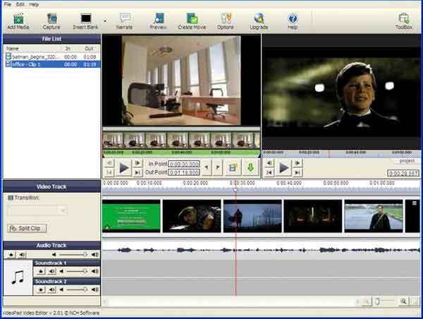 Software edit video terbaik yang bisa dicoba - Videopad