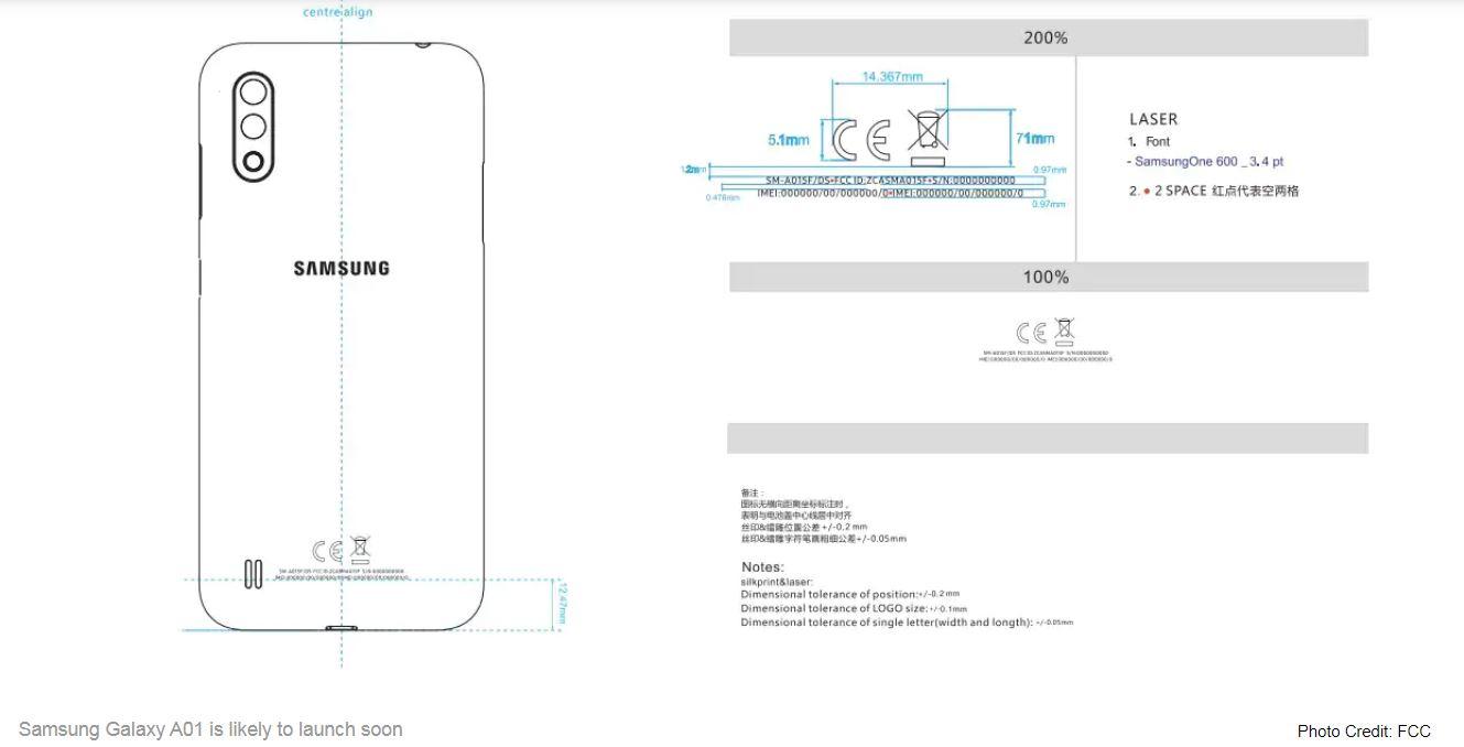 هاتف جلاكسي A01
