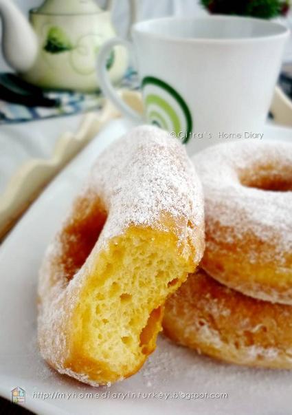 Citra's Home Diary: Resep Donat kentang/ Potato Donuts recipe