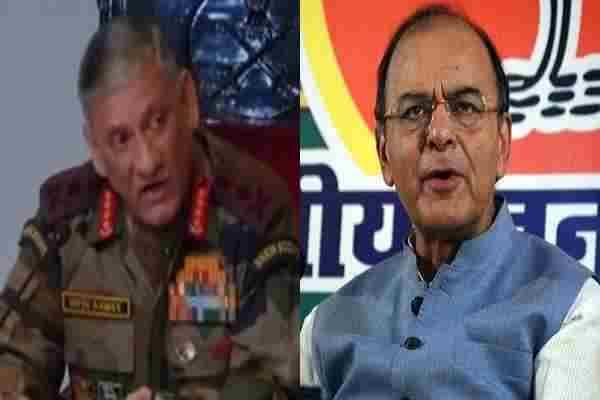 आज रक्षा मंत्री अरुण जेटली और सेना प्रमुख विपिन रावत करेंगे श्रीनगर का दौरा